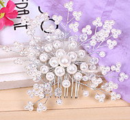 Pearl Hair Comb for Wedding