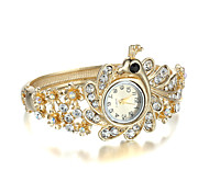 Sjeweler Fashion Golden CZ Diamond Wirst Watch Cool Watches Unique Watches