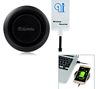 Minismile™ Newest Universal Qi Wireless Charger Charging Pad + Wireless Receiver + Cable for Samsung LG Sony Cellphone
