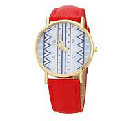 Ladies'  Fashion Wrist Watch High-Grade Quartz Watch Leather Band Material Bracelet Watch