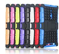 ola neumáticos TPU caso de retención pc para Nokia Lumia 830 (color clasificado)