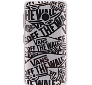 Cartoon Letters Patterns TPU Soft Case for Nokia Lumia N530