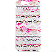 Pink Decoration Pattern of Transparent Frosted PC Material Phone Case for Huawei Ascend G7