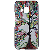 Colored Trees Pattern PC Material Phone Case for HTC M9