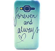 Forever And Always Love Pattern PC Hard Case forSamsung Galaxy Core Prime G360 G360H G3606 G3608 Back Cover