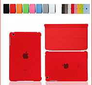 For iPad Air For iPad5 Smart Cover Case Front leather Cover+Matte Back Cover