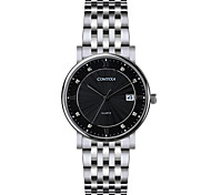 COMTEX  Men Watch steel watch quartz watch S6194G-2