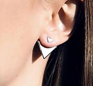 Fashion Models Size Wild Earrings Earrings Asymmetric Geometry Triangle