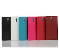 5-Zoll-Luxus-PU-Mappenledertasche für HTC Desire 620 (verschiedene Farben)