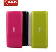 batería externa ssk® srbc536 10000mah banco de potencia para iPhone6 / 6 más ipad de Samsung y otros dispositivos móviles