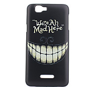 For Wiko Case Pattern Case Back Cover Case Black & White Hard PC Wiko