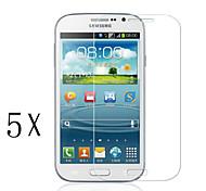 [5-pack] professionnel de haute transparence cristal lcd protecteur d'écran avec chiffon de nettoyage pour Samsung Galaxy J1