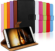 Genuine Leather Wallet Case for Huawei Mate 7 (Assorted Colors)