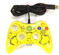 New USB Yellow Wired Gamepad Controller Joystick for Xbox 360 & Slim 360E & PC Windows