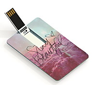 64gb ficar bonita USB flash drive cartão de design