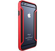 ivso eccellente caso di serie confine di alta qualità con la protezione dello schermo per il iphone 6 più del telefono da 5.5 pollici