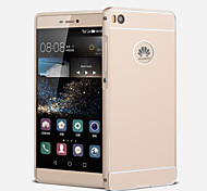 Metal Frame Acrylic Mirror Backplane Metal Hard Case for Huawei Ascend P8 Lite (Assorted Colors)