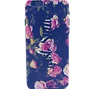 Rose Flower Be Free Pattern Hard Case Cove for iPhone 6