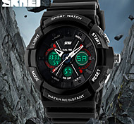 SKMEI® Men's Fashion Design Sport Watch Analog-Digital Dual Time Zones/Calendar/Chronograph/Alarm