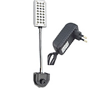 LED aquarium  lamp Mini Aquarium clip lamp bracket lamp JL-24 third type should beSP000543 European standard plug