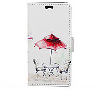 Umbrella Pattern Full Body Case for Asus Zenfone 2(5.5)