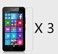 (3 Pcs)High Definition Screen Protector for Microsoft Lumia 640 XL