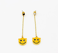 Fashion Smile Face Earring Drop Earrings