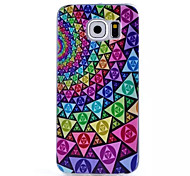 Gradual Change Pattern TPU Painted  Soft Back Cover for Samsung Galaxy S6 edge