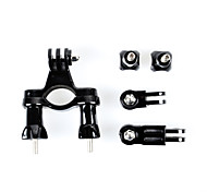 Bicycle Handlebar / Seatpost Clamp with Three-way Adjustable Pivot Arm for Gopro Hero 4/3+/3/2/1/sj4000/sj5000/sj6000