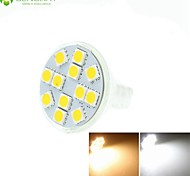 4 x MR11 GZ4 GU4 G4 2W Warm / Cool White / Warm White 12 x 5060SMD LED 180-210LM Light Led Bulb (AC/DC10-30V)