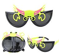 New Folding Sunglasses  Men And Women Baby Cute Cartoon Beetle Glasses