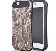 a nova combinação para iphone6plus óleo leve design da vara palha pequeno cintura shell telefone móvel