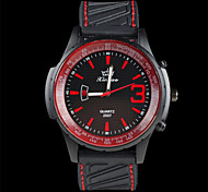 Men's Sports Watch Fashion Personality Silicone Quartz Watch