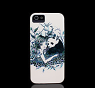 panda capa padrão para iphone 4 / iphone 4 s caso