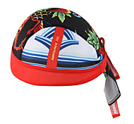Bandana Bike Cycling,WEST BIKING® Unisex Soft Breathable Bicycle Cap Red Carp Polyester Pirate Kerchief UV Sunscreen Cycling Accessories