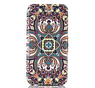 Chinese Elements  Pattern PU Leather Phone Case for iPhone 6