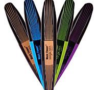 fibra mascara escova olho longo composição colorida cílios produtor