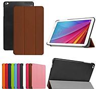 Custodia in pelle tripla modello pieghevole di alta qualità 9.6 pollici per Huawei MediaPad t1 10 (colori assortiti)