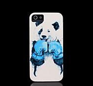 Panda modèle couverture rigide pour iPhone 5 cas pour iphone 5 s