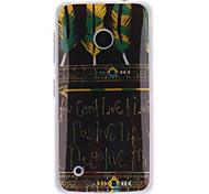 Tribal Feather Patterns TPU Soft Case for Nokia Lumia N530