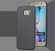 Ultra-thin PU Mobile Phone Protection Shell for Samsung Galaxy S6 Edge (Assorted Color)
