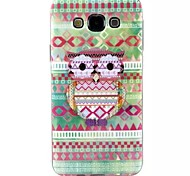 Special Design 3D Pattern TPU Back Cover for Samsung Galaxy E7/E5