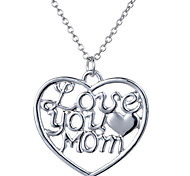 Love You Mom Fashion Pendant Necklace(Couple)
