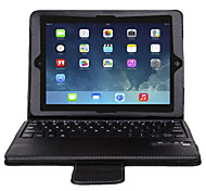 IVSO Ultra-Slim DETACHABLE Bluetooth Keyboard Stand Case / Cover for iPad air 2 Tablet (Black)