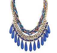 European Style Ethnic Fashion Drop Pendant Necklace