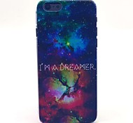 Space Star I Am Diamond Pattern Hard Case Cove for iPhone 6
