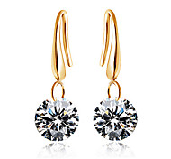 HUALUO®European and American Fashion CZ Earrings
