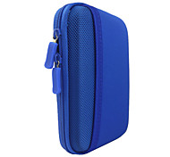 Protective Hard Shockproof Bag Case For 2.5 Inch Hard Disk Drive - Blue