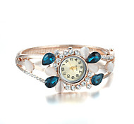 Sjewelry Female Fashion Watch More Kinds Stone Rose Gold Plating Bracelet Cool Watches Unique Watches