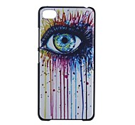 YMX-Color Eye Pattern Design Pattern Protective Hard Case for Lenovo S90